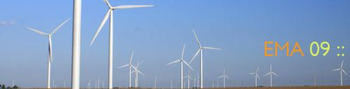 I never did find out what the wind turbines were for